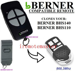 Auto Garage Tools Canada - FOR BERNER BHS140,BHS110 compatible garage door remote control free shipping