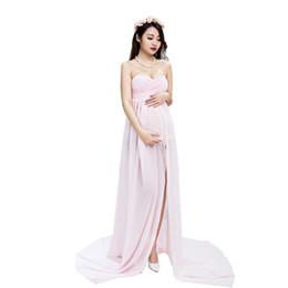 82870458fa4d4 Pregnan Women dress Maternity Photography Props Elegant Pregnancy Clothes  Dress Maternity Dresses For Photo Shoot Clothing