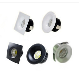 China Factory Wholesale Recessed micro miniature spot down light small mini 5W Dimmable COB LED downlight White and Black shell AC85-265V supplier miniature cooling suppliers