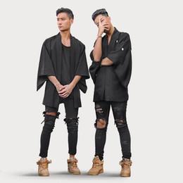 $enCountryForm.capitalKeyWord Canada - New Autumn Distressed Skinny Ripped hip hop Jeans Mens Big Hole On Knee Swag Streetwear Clothes Destroy Denim Pants