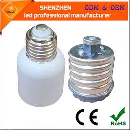 E26 E27 lampe LED Bases New halogène CFL Ampoule E40 à E27 Adaptateur Convertisseurs E39 rue de maïs E40 douille en Solde