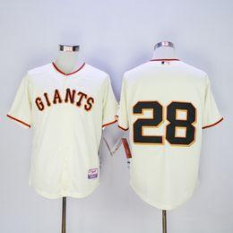 0f49e6e5e 2016 cheap Mens Giants 25  Bonds  35 Brandon Crawford  28 Buster Posey cream  Cool Base Baseball jerseys Free Shipping cheap cheap giant jersey yellow ...
