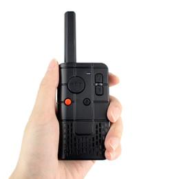 Al por mayor-Mini MINI Walkie Talkie TP-03 de una sola frecuencia de una sola banda UHF 400-470MHz 2W 16CH Radio portátil A7167A