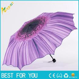 6190762ea Sunflower umbrella online shopping - New hot Sun umbrella outdoor anti UV  silver plastic sunflower creative
