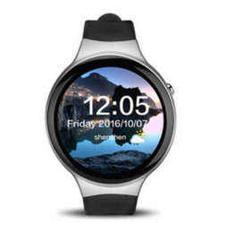 China New I4 Plus Smart Watch Android 5.1 GPS WIFI SIM Bluetooth 1GB-RAM 16GB-ROM AMOLED Screen MTK6580 Smartwatch Support Android iOS Watches DHL suppliers