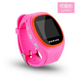 $enCountryForm.capitalKeyWord Canada - ZGPAX S866 SOS GPS Tracker Kids Smart Watch Phone GSM SIM LBS WIFI Bluetooth Children Smartwatch Waterproof Wrist Watches for iOS Android