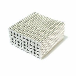 $enCountryForm.capitalKeyWord Australia - Wholesale - In Stock 200pcs Strong Round NdFeB Magnets Dia 4x1.5mm N35 Rare Earth Neodymium Permanent Craft DIY Magnet Free shipping