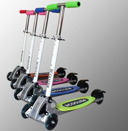 new arrival Three wheels Balance scooter Folding size 2 - 12 years old Children Safety scooter Adjustable Height