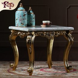 classics furniture Australia - Antique reproduction furniture manufacturer-European classic coffee table with marble top