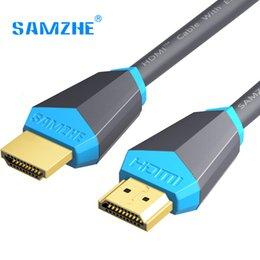 кабель dhgate HDMI 2.0 позолоченный 4K*2K 60Hz UHD HDMI кабель 0.75/1/1.5/2/3/5/8/компьютер Репроектора компьтер-книжки PS3 10m или HD TV LCD
