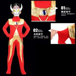 Costume D'ultraman Pas Cher-2017 Vente chaude Monster Halloween Carnival Ultraman Superhero Superman Costumes Cosplay Clothing