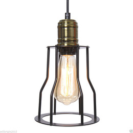 China Loft Edison Vintage DIY Chandelier Ceiling lamp industrial Pendant Light Fixture cheap diy vintage edison pendant suppliers