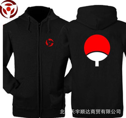 China The new fall and winter clothes men sweater Naruto Sasuke Uchiha TuanShan jacket clothes sweatershirt cheap uchiha jacket suppliers