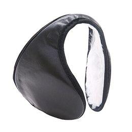 Ear Muffs Canada - Wholesale-Hotsale Men' Women's Ear Muffs Winter Ear Warmers Plush  Behind The Head Band 7IUK