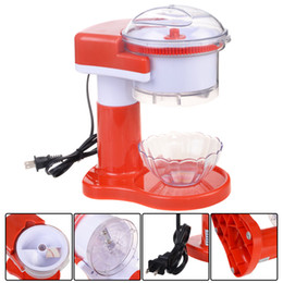 electric ice shaver crusher machine snow cone maker commercial shaved red new - Commercial Snow Cone Machine