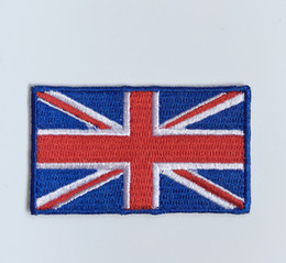 Wholesale army clothes online shopping - Computer embroidered national flags and army flags clothes patch badge suitable for sew on or iron on