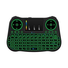 $enCountryForm.capitalKeyWord Canada - Original MT08 Wireless Keyboard Backlit 2.4GHz Mini Touchpad Keyboard USB Air Mouse Remote Control For S6 Pro X96 MINI Android TV Box
