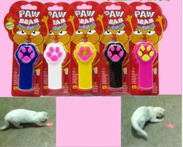 battery toys wholesale 2019 - IPAW Beam Cat Toy Dog Laser Pointer Toys Cat Training Toys Laser Cat Stick Funny Pet Supplies ( Not Include Batteries )