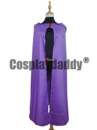 $enCountryForm.capitalKeyWord Canada - Japan Anime Manga Hero Teen Titans Raven Halloween Cosplay Costume Whole Set