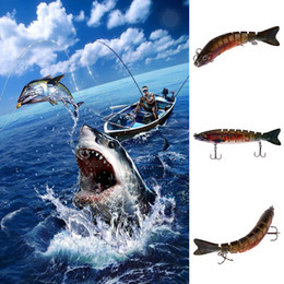 New lifelike fishiNg lures online shopping - Fishing Hooks Lifelike Fishing Lure Segment Swimbait Crankbait Hard Bait cm g Bait Artificial Lures Fishing Tackle New