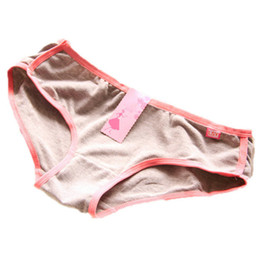 Barato Calcinhas De Algodão Para Mulher-Wholesale-Lady Women Cotton Underwear Briefs Panties Knickers Sports Breathe Lingerie