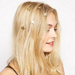 $enCountryForm.capitalKeyWord NZ - 2017 new minimalist star hairpin simple spiral clip hair decoration plate hair ornament ornaments hair accessories wholesale