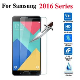 samsung j2 j3 j7 2019 - Wholesale-2.5D 9H  Tempered Glass Screen Protector Film For Samsung Galaxy 2016 Edition A3 A5 A7 A8 J1mini J1 J2 J3 J5 J