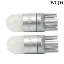 License pLate Lights online shopping - WLJH K White Car Light T10 W5W Led Wedge Bulb SMD Auto High Quality Dome Reading Parking Lights Sidemarker Sidelight Lamp Bulbs