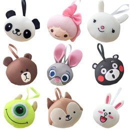 toys tools 2019 - PrettyBaby animal model bath balls 15 styles for you to choose cute designs funny bath tools kids bath toys free shippin