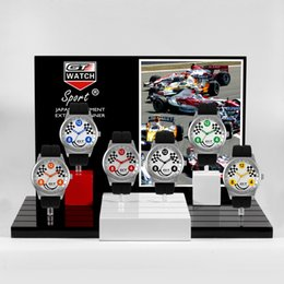 Men Sports Racing Watch Australia - 50 Pieces GT2 WATCH Extreme Driver GT Racing Sports Men Militray Pilot Relojes Silicone Strap Quartz Wristwatch Fashion Trend Watch