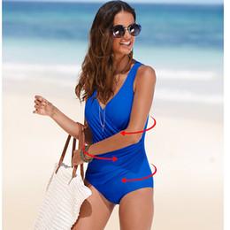 $enCountryForm.capitalKeyWord Australia - 2017 New One Piece Swimsuit Women Plus Size Swimwear Retro Vintage Bathing Suits Beachwear Print Swim Wear Monokini 4XL