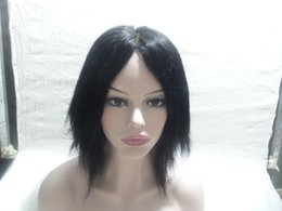 $enCountryForm.capitalKeyWord NZ - European Virgin Hair 100 % Pretty Straight Wig Class Full Of My Shoelaces Complete Full Lace Wigs Top Silk Simulation Of The Scalp Kabell