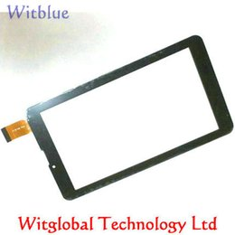 "tablet replacement screen 2018 - Wholesale- New touch screen For 7"" RoverPad Sky Glory S7 3G  Go C7 3G   GO S7 3G Tablet Touch Screen Panel Digitize"