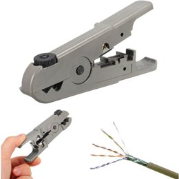 Tools Utp Canada - Universal Rotary Coax Coaxial UTP STP Cable Wire Cutter Stripping Tool Stripper