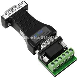 Großhandel Freeshipping RS232 ZU CANBUS Adapter RS232 Seriell zu CAN BUS Konverter verwendet transparenten TVS CAN BUS ZU RS232 Konverter