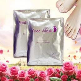 skin peel mask 2019 - Foot Mask Baby Your Feet Exfoliation Peeling off Dead Skin Remove Feet Mask Foot Care Treatment Free Shipping discount s