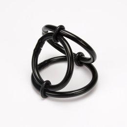 $enCountryForm.capitalKeyWord NZ - Medical Silicone 3 Ring Scrotum Testicle Clamps, Penis Rings, Penis Lock, Cock Ring, Cock Clamp, Adult Game, Sex Toy 1030