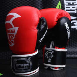 $enCountryForm.capitalKeyWord Canada - 12OZ 14OZ WHOLESALE PRETORIAN MUAY THAI TWINS BOXING RED PUNCHING guantes de boxeo GLOVES TKD MMA MEN FIGHTING BOXING GLOVES