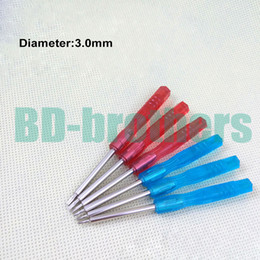 t5 screwdrivers UK - NEW Style Red   Blue 85mm Mini Screwdriver 3.0mm Key 0.8 1.2 Pentalobe 1.5 2.0 3.0 Phillips Flathead Y T4 T5 T6 Screwdrivers 1000pcs lot