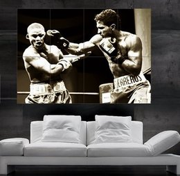 $enCountryForm.capitalKeyWord Canada - Boxing Fight Poster print wall art 8 parts Poster print art huge picture photo free shipping No290