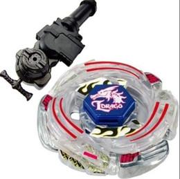$enCountryForm.capitalKeyWord Canada - 1Pcs Retail 4D Bayblade Lightning L-Drago Metal Fusion BB43 Christmas Gifts Toys Bayblade +L-R Starter Launcher + Hand Grip