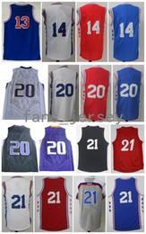 a10e2c574 ... Jersey Nets v New York Knicks Retro 76erz 13 14 Sergio Rodriguez 20  Markelle Fultz 21 Joel Embiid Black Red Blue Grey Mens Adidas Philadelphia  76ers ...