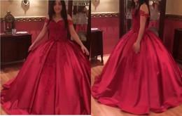 $enCountryForm.capitalKeyWord NZ - Arabic Red Long Evening Dress New Arrival Prom Dress Formal Event Gown Plus Size robe de soire vestido de festa longo