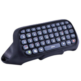 Electronic Shocks NZ - Black Keyboard Keypad Text Messenger Chatpad for Xbox 360 Game Controller keyboard electronic keyboard stick
