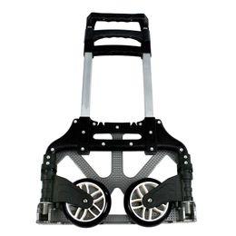 Valise pliante de chariot à la main de chariot de poussée de chariot en aluminium de 170 livres pliant en Solde