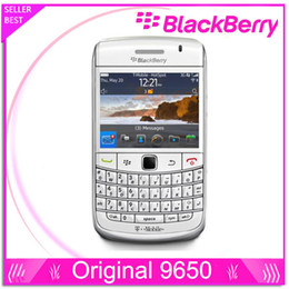 Gps Wi Fi Canada - unlocked cell phone Original BlackBerry 9650 Phone with Wi-Fi GPS 3.2MP Camera+QWERTY 3G  In Stock refurbished mobile phone