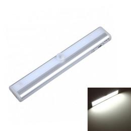 Motion detector ir online shopping - Edison2011 LED Cabinet Light Leds LED Night Lamp Motion Sensor Light IR Motion Detector Wireless LED Bar Light For Closet