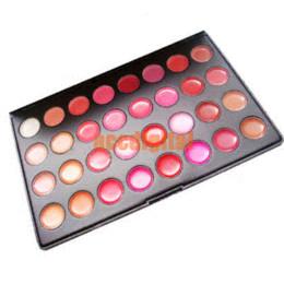 Lip Palettes Canada - Makeup Set ,portable lip gloss palettes,small palettes,32 colours lip gloss,Makeup Kits Wholesales and retail makeup kit tool