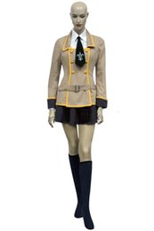 Japanese Woman Canada - Hot Japanese School Uniform Code Geass Girl's Uniform Cosplay Costume Women Role-playing Halloween Party Costume Outfits