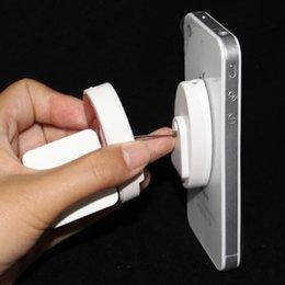 Cep telefonu perakende mağaza veya süpermarket sergisi için Duvara Monte mobil Cep Telefonu ekran Çekme Kutusu Recoiler